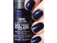 NYC New York Quick Dry Nail Varnish Polish (West Village 204B)