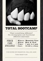 Total Bootcamp classes