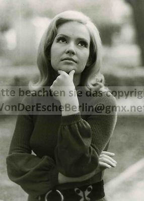STARS: Helga BAYERTZ Moderatorin - OriginalFoto VINTAGE STARFOTOGRAF: Ingo BARTH