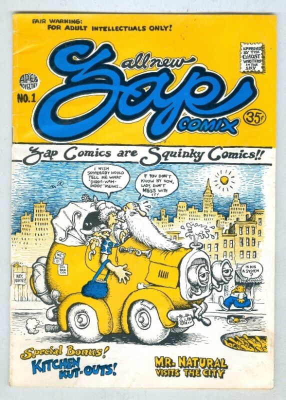 Zap #1 VG- 1967 3rd print