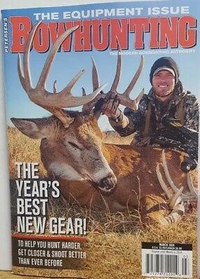 Petersen's Bowhunting March 2019 The Year's Best New Gear FREE SHIPPING