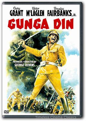 Gunga Din DVD New Cary Grant Victor McLaglen Douglas Fairbanks Jr Sam Jaffe