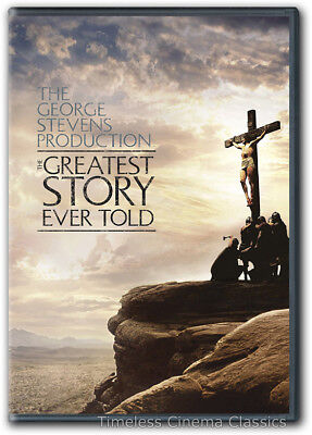 The Greatest Story Ever Told Dvd New Max Von Sydow Michael Anderson Jr