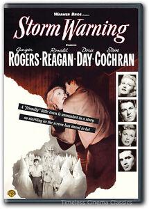 Storm Warning DVD New Ginger Rogers Doris Day Steve Cochran Ronald Reagan