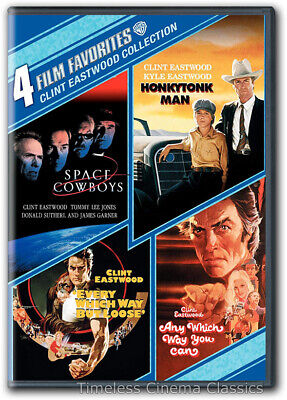 Space Cowboys Every Which Way But Loose Honkytonk Man 1 more movie DVD New