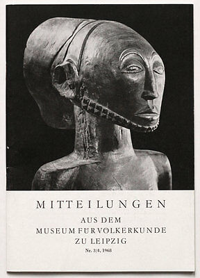1968 Ethnographic journal Central African art, Siberia, Oceania