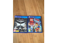 Batman arkham knight lego movie ps4 £10 each