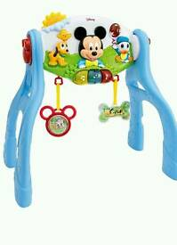 Micky mouse activity play gym in excellent condition