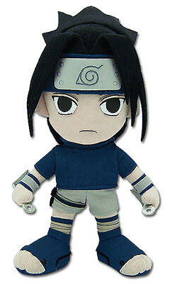 "BRAND NEW Great Eastern GE-7046 Naruto 9.5"" Sasuke in Blue Stuffed Plush Doll"
