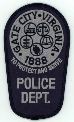 GATE CITY POLICE SUBDUED VIRGINIA VA NEW SHOULDER PATCH SHERIFF