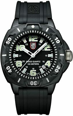 Luminox Men's A.0201 Black Carbon-Reinforced Watch