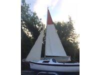 Sailing boat yacht cabin day boat shipmate