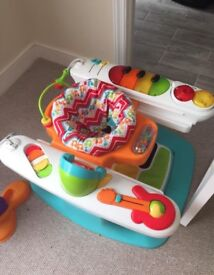The Fisher-Price 4-in-1 Step 'n Play Piano
