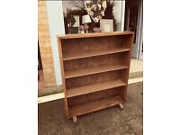 Solid wood large bookcase for painting