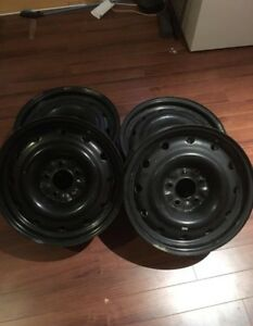 Steel rims Mazda/Honda set of 4
