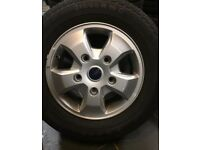 """Ford Transit Custom 16"""" Alloys with Tyres"""