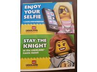Lego land tickets for 12th July x2