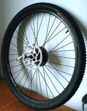 DISC BRAKE BACK WHEEL. 26 INCH. COMES WITH TYRE AND TUBE. East Perth Perth City Preview