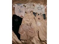 0-3 3-6 months baby boy clothes
