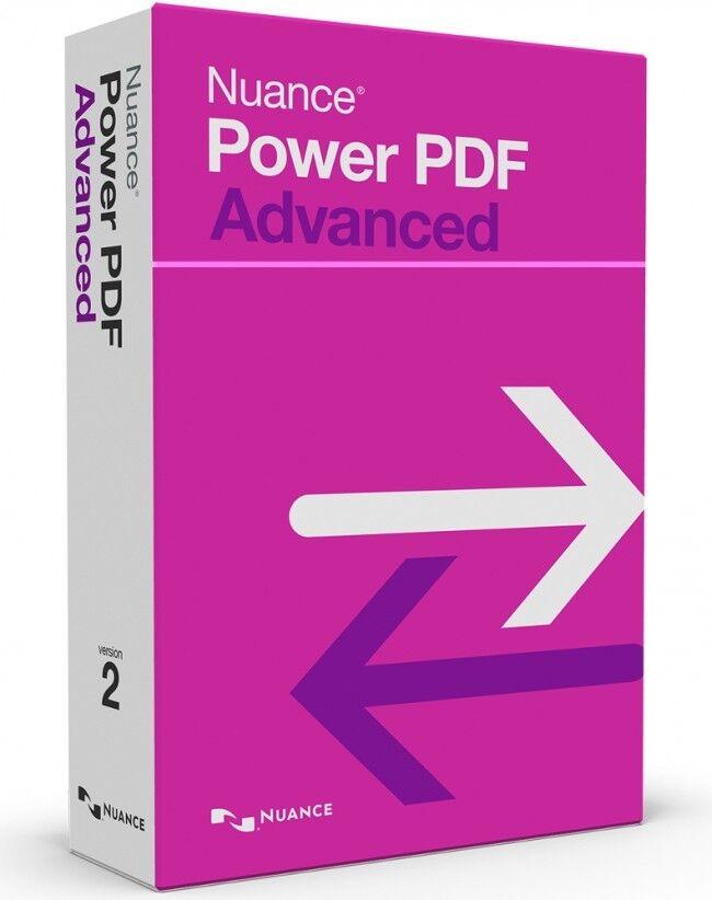 Nuance Power PDF Advanced 2.1   Lizenz Key für 3 PCs   Windows  Lifetime