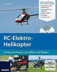 RC-Elektro-Helikopter + DVD von Thomas Riegler UVP 19,95 Euro NEU