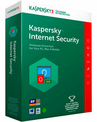 KASPERSKY INTERNET SECURITY 2020 1 PC DEVICE 1 YEAR !! BIG SALE 5.95 $ !! for sale  Shipping to Nigeria