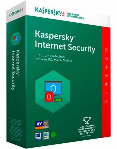 KASPERSKY INTERNET SECURITY 2019 1 PC DEVICE 1 YEAR ! BIG SALE 5.9$