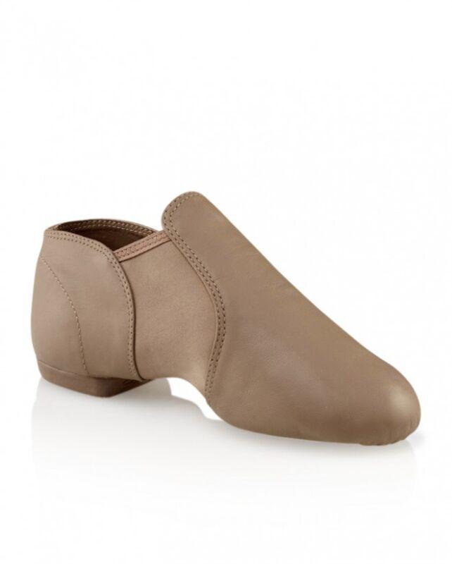 Capezio CG15 & CG15A Stretch Jazz Shoe in SUNTAN!