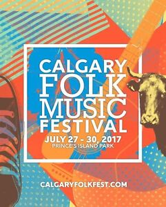 2017 Calgary Folk Music Festival Tickets