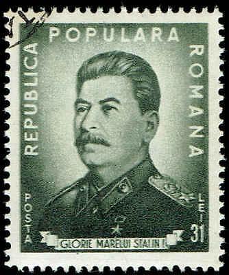 Scott # 718 - 1949 - ' Joseph V. Stalin 70th Birthday '