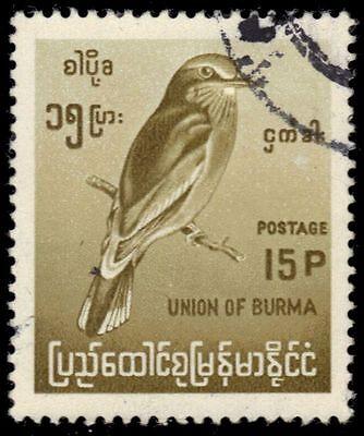 """BURMA 202 (Mi203) - Indian Roller """"Coraicas benghalensis"""" (pa50623)"""
