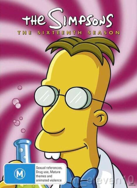 THE SIMPSONS : SEASON 16 : NEW DVD