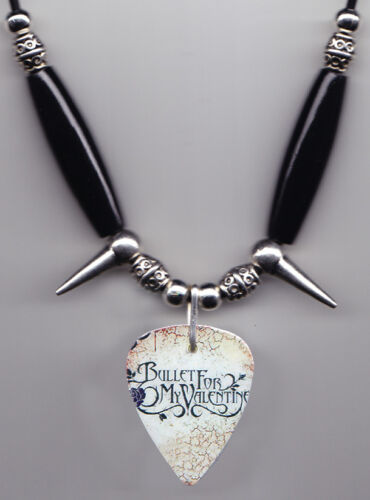 Bullet For My Valentine Guitar Pick Necklace