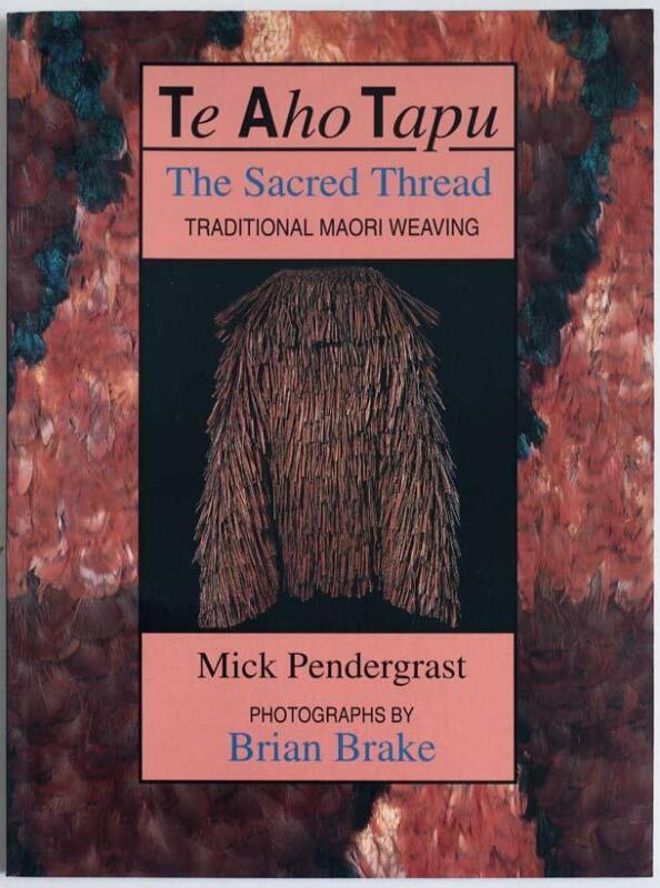Traditonal Maori weaving, 1994 tribal art book