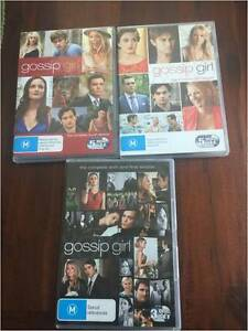 GOSSIP GIRL SEASONS 4 TO 6 ONLY WATCHED ONCE Greenvale Hume Area Preview