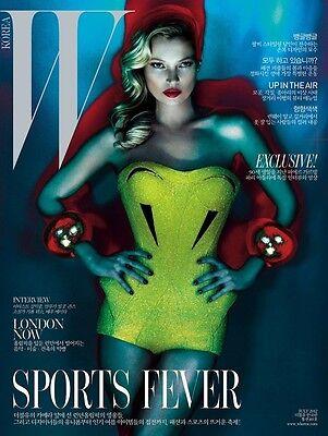 W KOREA Magazine,KATE MOSS,Laura Kampman,Chloe Moretz,Tom Ford,Codie Young