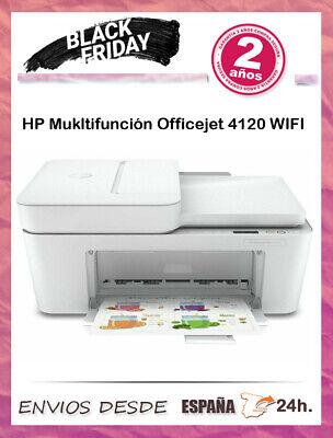 Multifunción HP Deskjet Plus 4120 Wifi/ Escanea/ Copia/ Imprime/ Fax