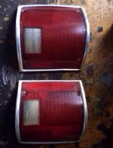 80s Chevy taillights