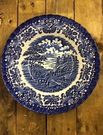Olde country castles British ironstone bowls
