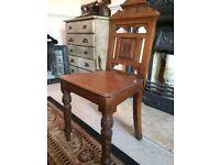 Antique Victorian Chamber Pot Chair
