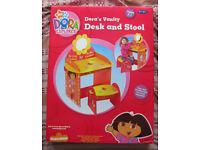 Dora The Explorer Childrens Vanity Desk and Stool
