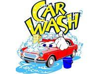 Car washer job