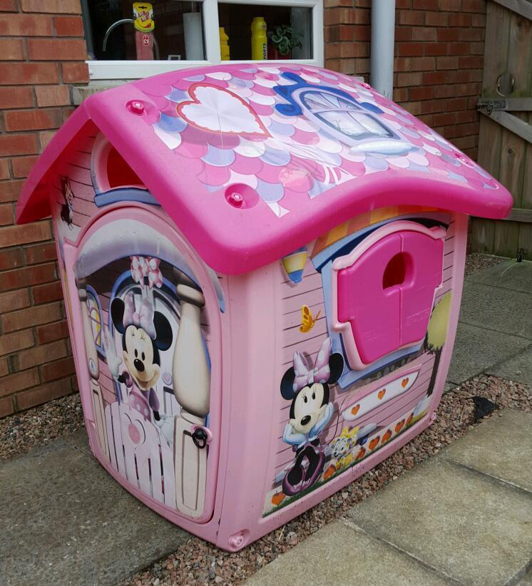 Minnie Mouse Outdoor Playhouse In Portadown County
