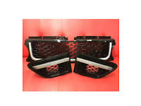 RANGE ROVER SPORT 2012 GRILL & SIDE VENTS