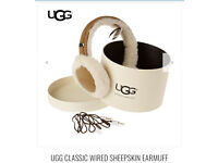 BRAND NEW - Ugg sheepskin wired earmuffs