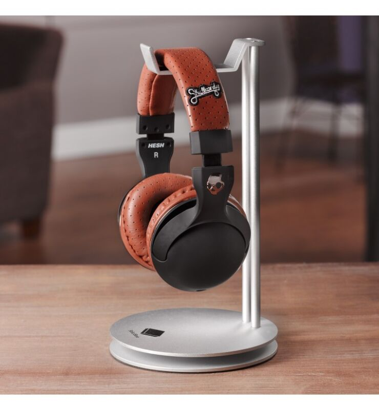 Solid Base Aluminum Metal Desktop Headphone Stand Hanger for Beats JBL Bose Sony