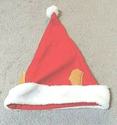 Plush Red and White Santa Claus Caps Santa's Hat for Christmas Party Costume*