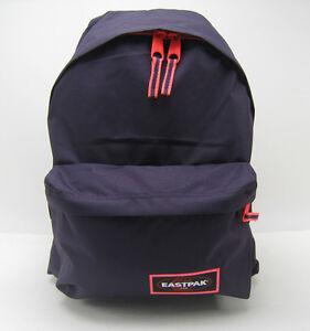 Details about Eastpak Padded Backpack Blakout Purple School Bag