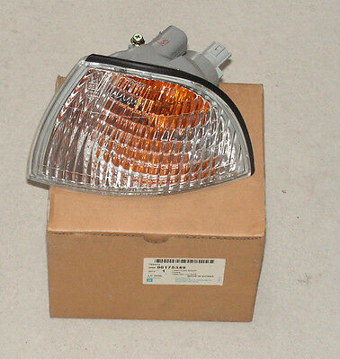 Daewoo Cielo Front LH Indicator Lamp Part Number 96175349 Genuine Daewoo Part