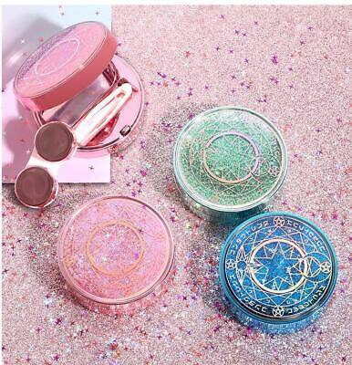 Girls Magic Dreamy novelty Contacts Lens Case Sand Bling Colored Contacts Holder (Novelty Contact Lenses)